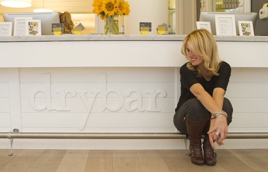 Professional hair stylist and Drybar founder Alli Webb