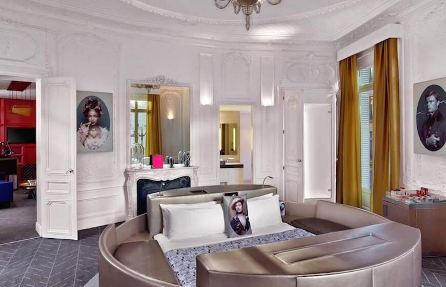 An Extreme WOW Suite at the W Paris Opera Hotel