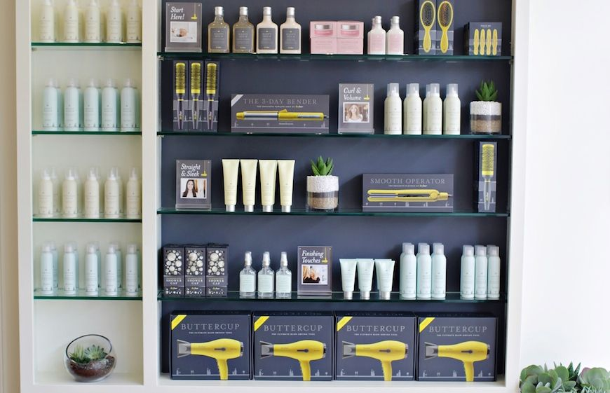 Drybar hair styling products