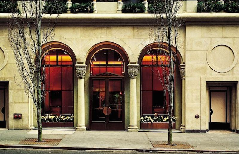 Exterior of Morgans in New York City