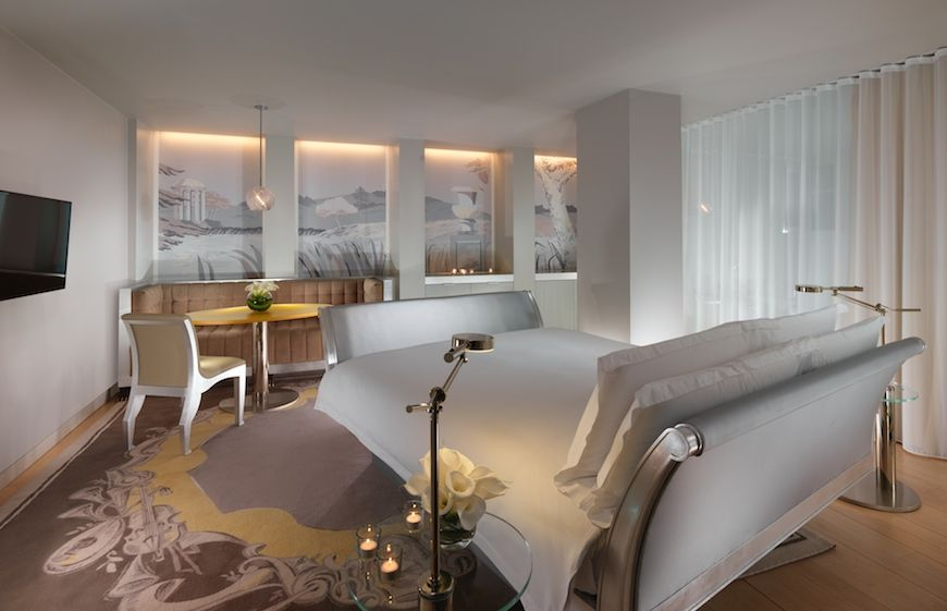 A guest room at Sanderson in London