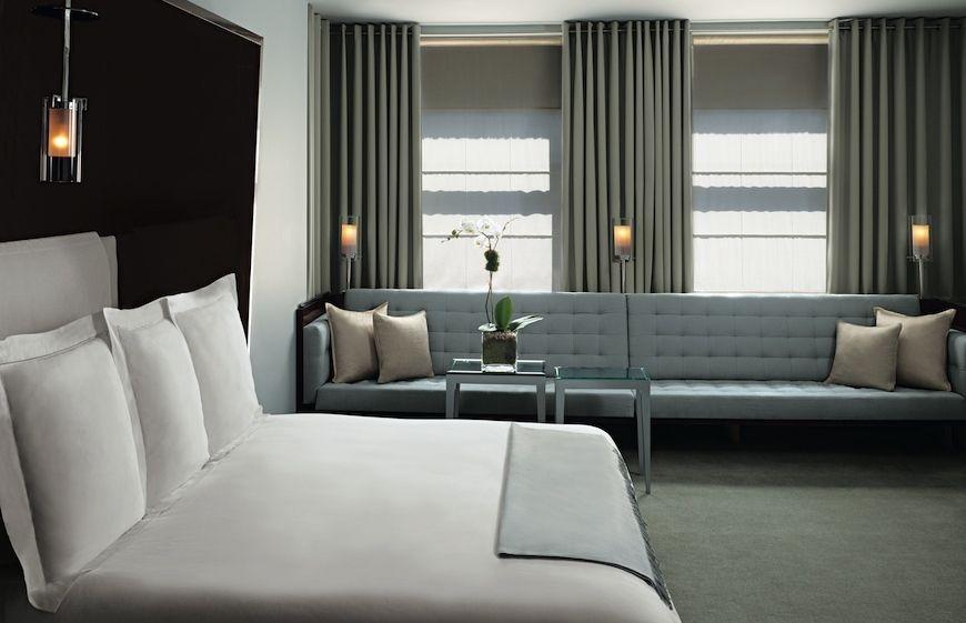 The Royalton guest room