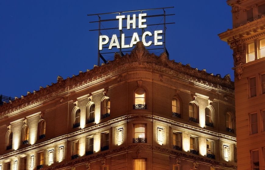 The exterior of The Palace Hotel San Francisco