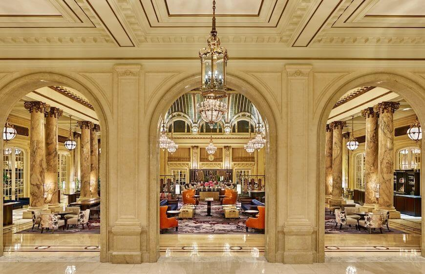 Tea Time at the Best Hotel in San Francisco