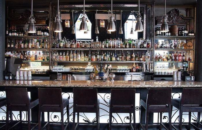 East Thirty-Six bar and restaurant interior