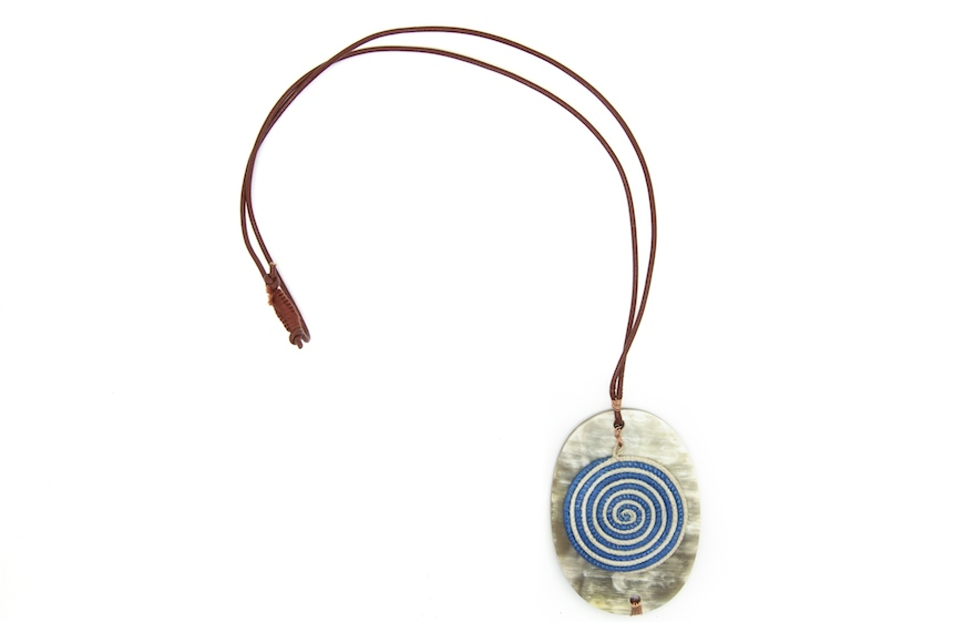 A Dela Blue Necklace by Songa Designs International