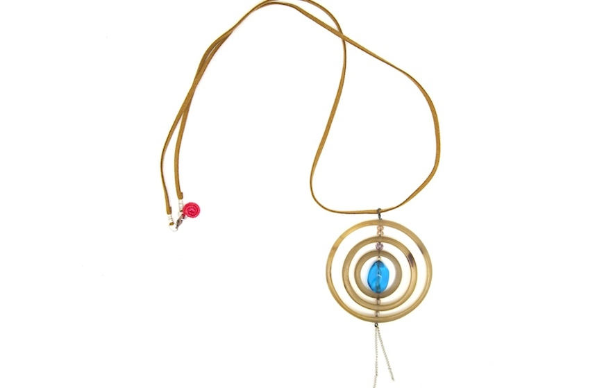 A Tasara necklace by Songa Designs International