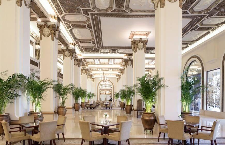The lobby of The Peninsula Hong Kong