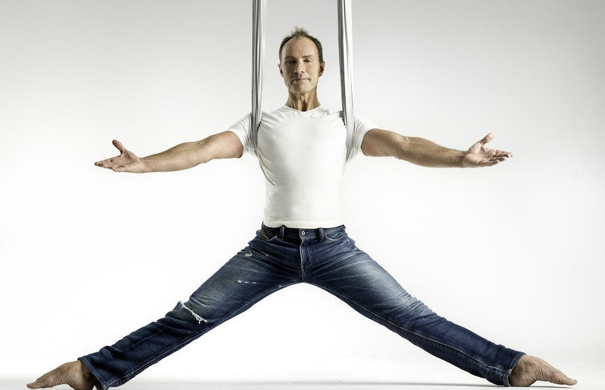 Christopher Harrison is the founder of AntiGravity Fitness