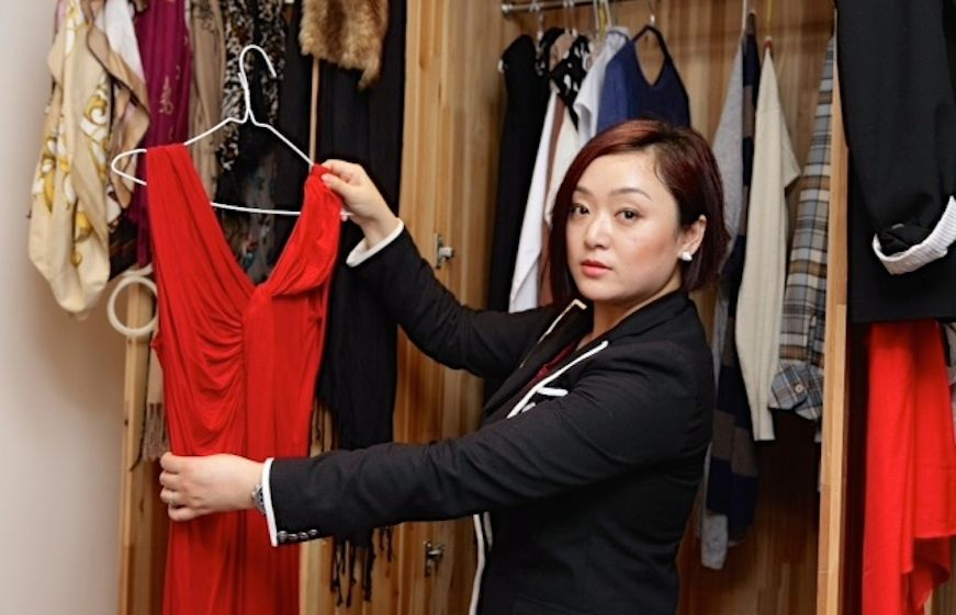 Christine Zhou is a Hong Kong fashion stylist