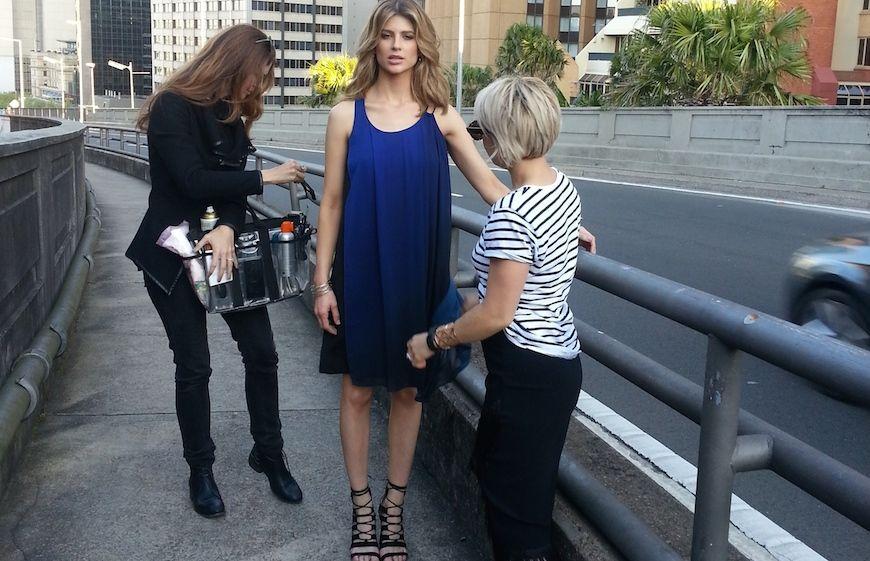 Rosie Mckay the fashion stylist working in Sydney