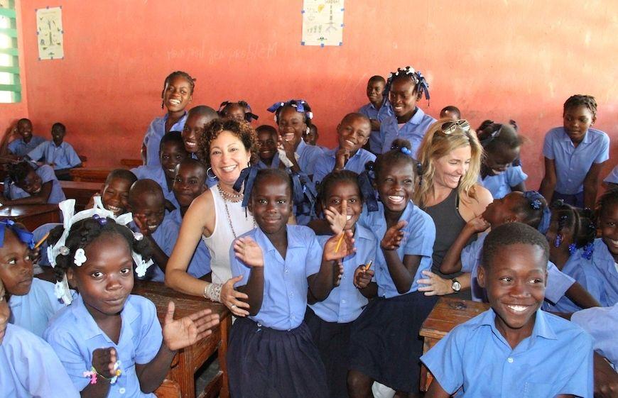 Simbi Haiti children and founders