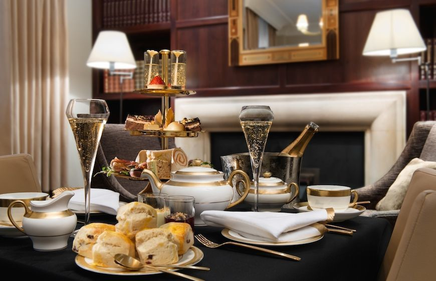 Afternoon tea at St James' Court, A Taj Hotel in London
