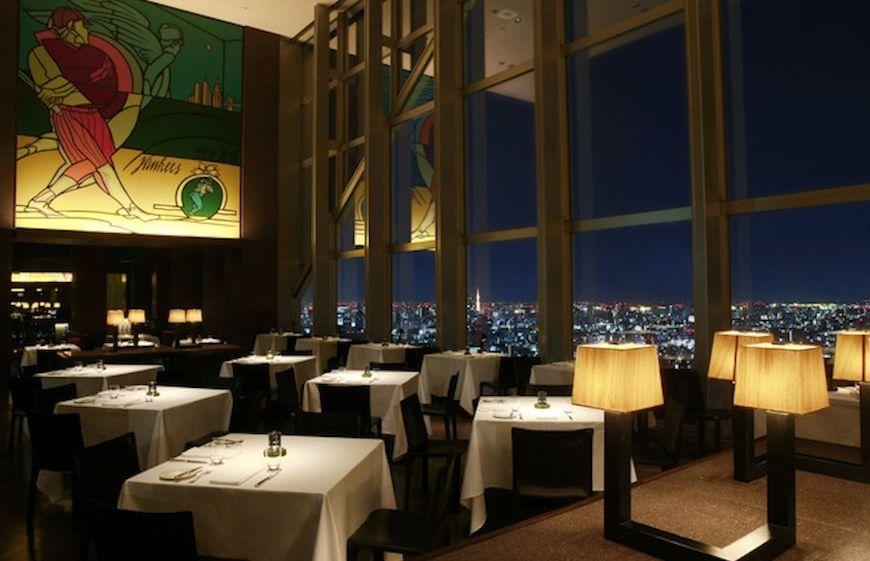The New York Bar at the Park Hyatt Tokyo