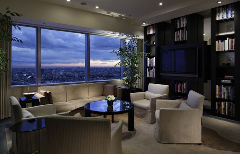 A suite at the Park Hyatt Tokyo