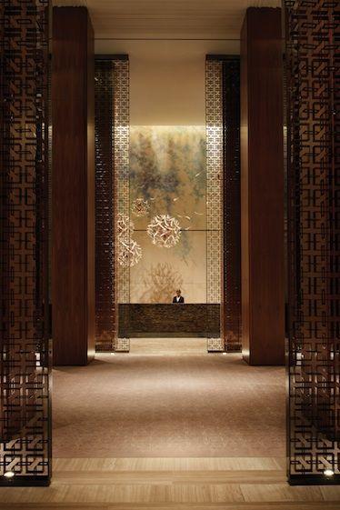 The lobby at Four Seasons Hotel Toronto