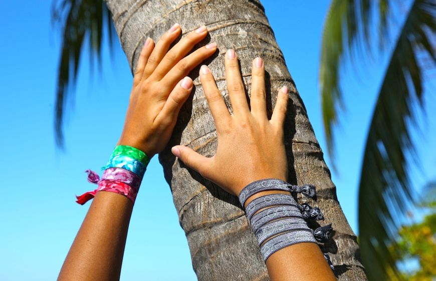 Simbi INC material bracelets