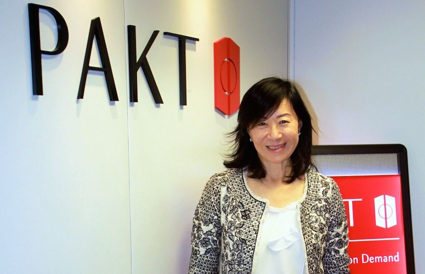 Barbara Yu Larsson is the founder of PAKT
