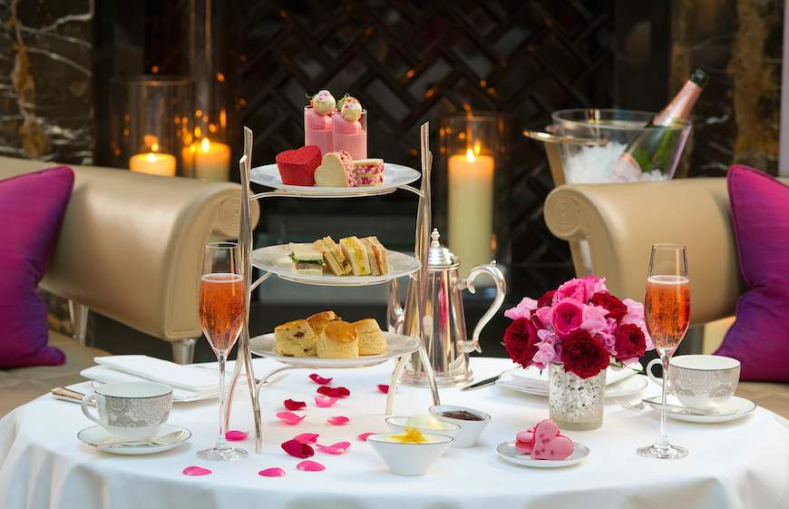 The Valentines Afternoon Tea with Champagne