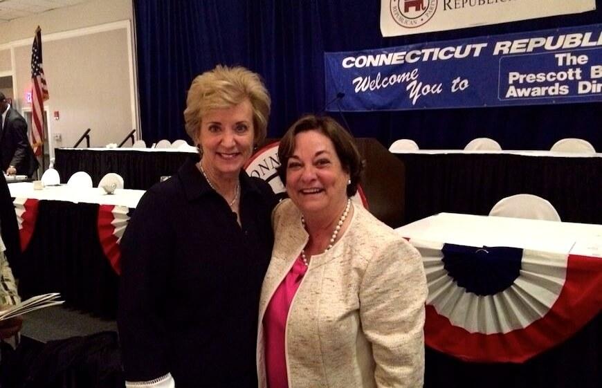 Ladies Launch Club founder Kathy McShane & Linda McMahon