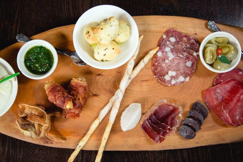Cuisine at Buca Osteria Enoteca in Toronto