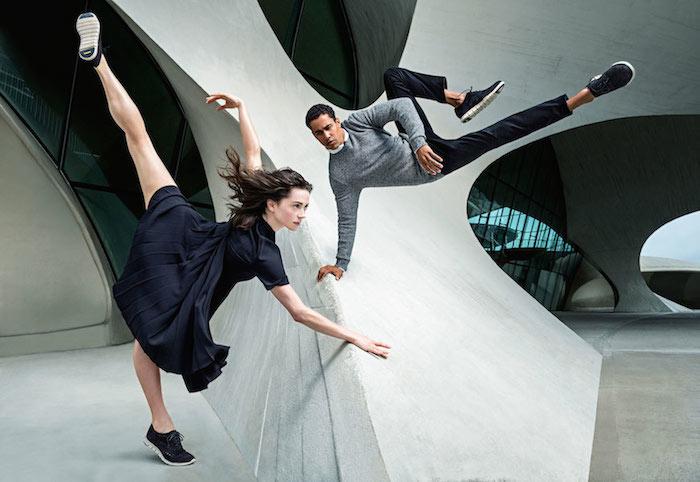 Dancers wearing Cole Haan comfortable shoes