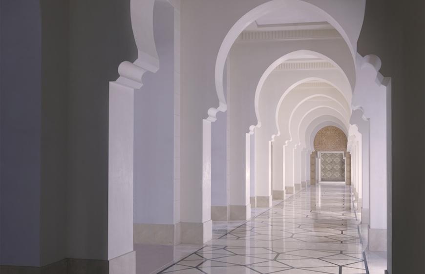 Interior of The Four Seasons Resort Dubai at Jumeirah Beach