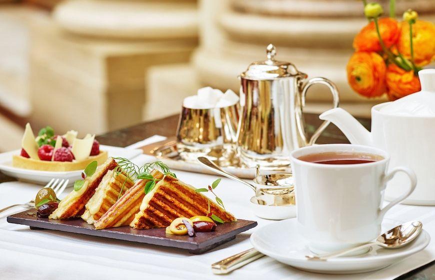 Afternoon Tea at The Palace Hotel San Francisco