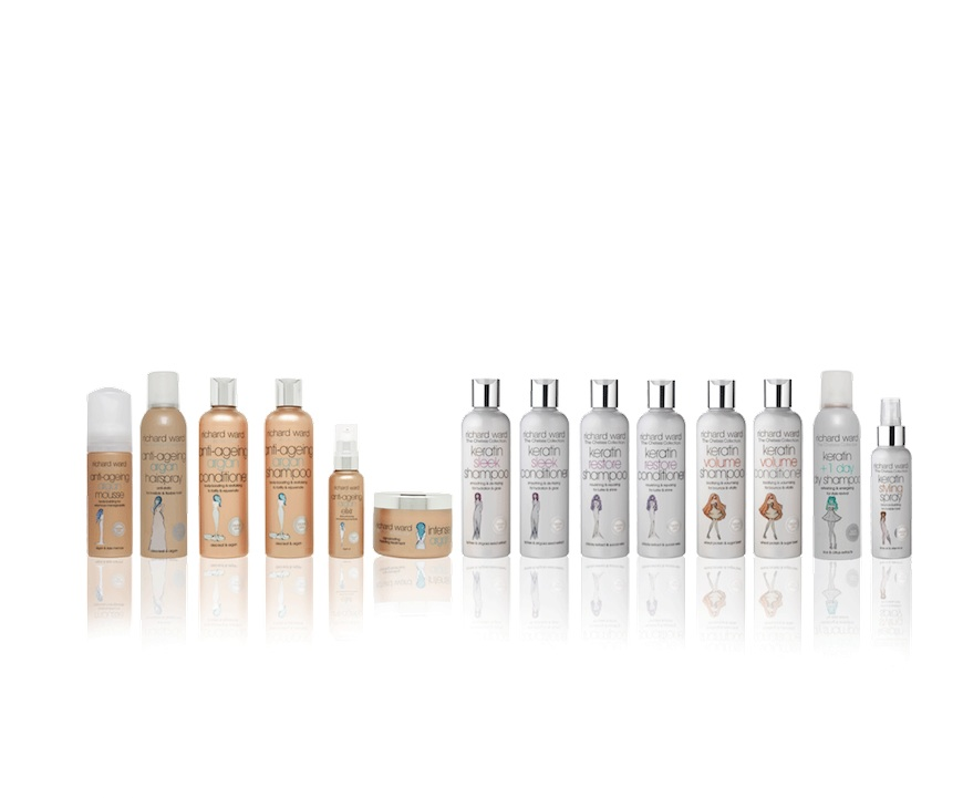 The Chelsea Collection haircare products by the celebrity and royal hairdresser Richard Ward
