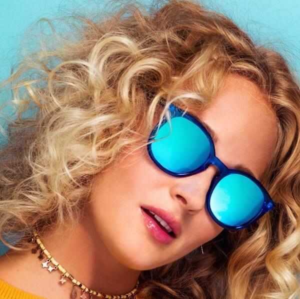 Quay Australia Dixi Blue sunglasses