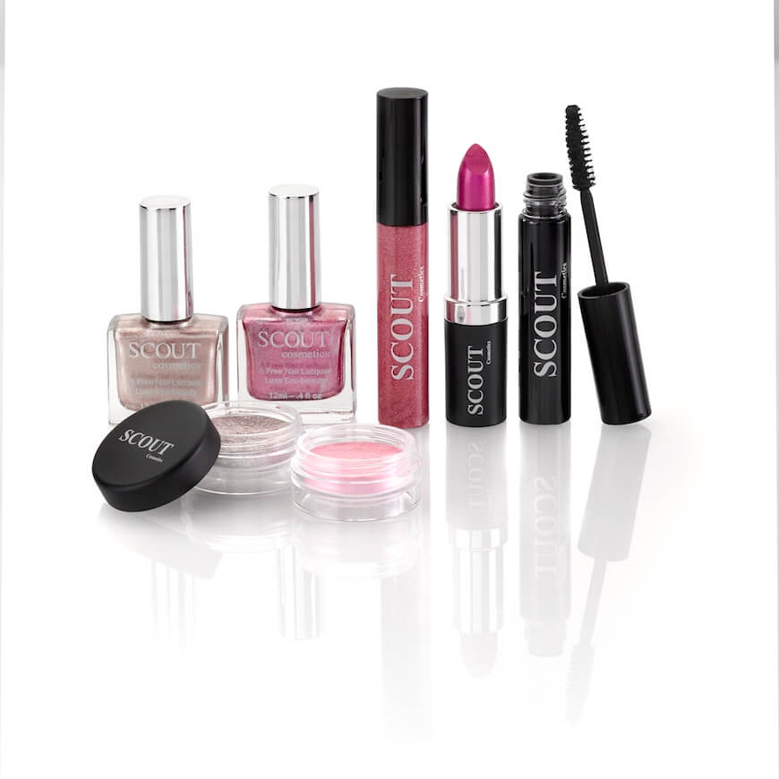 SCOUT Cosmetics product range