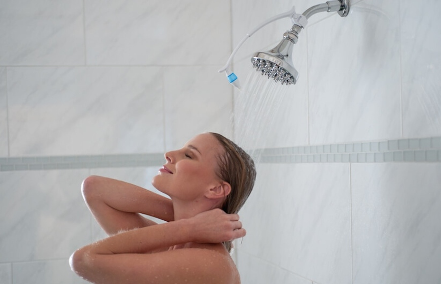 Take Aromatherapy Showers When You Travel