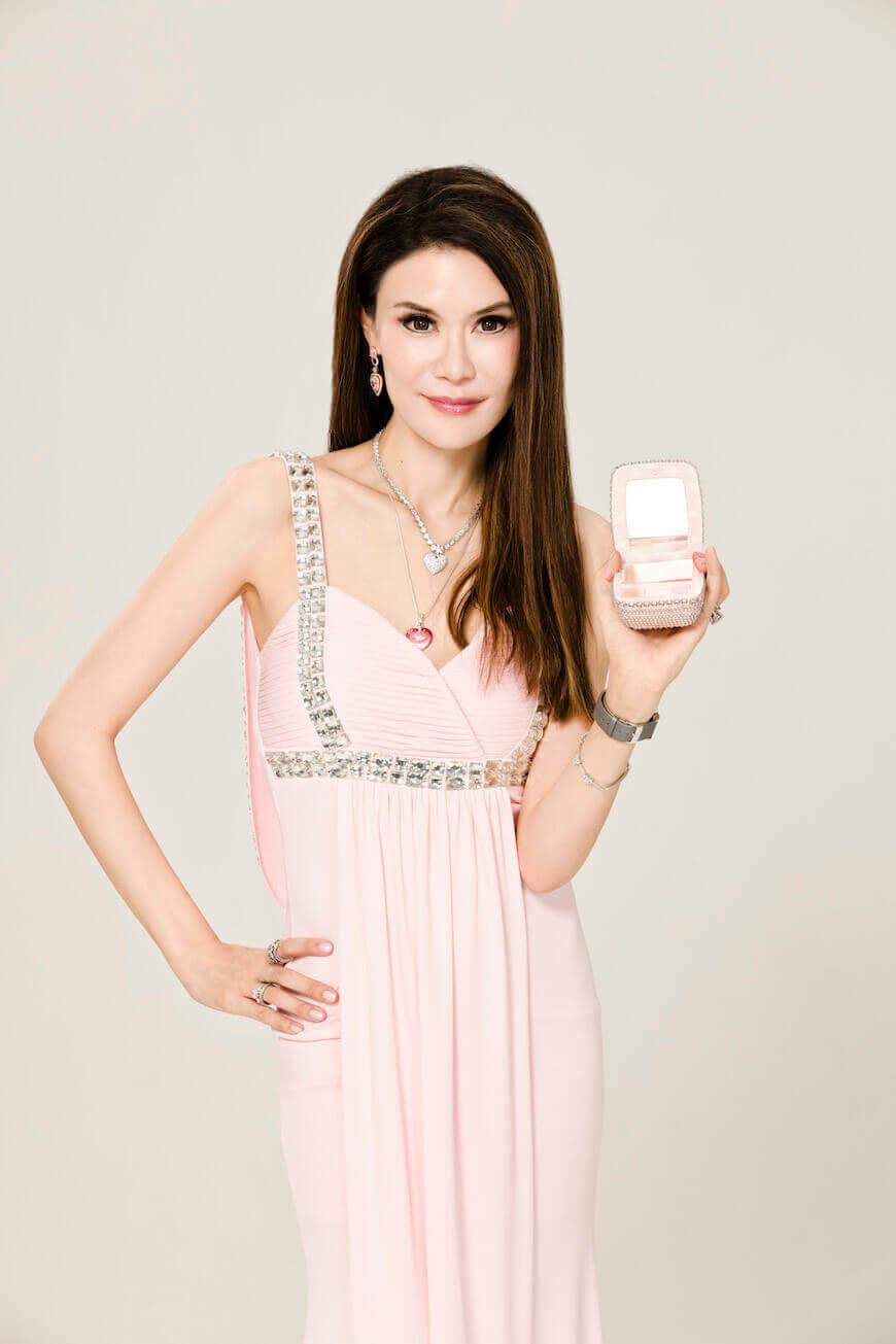 Hong Kong CEO Jennifer Cheng holding a GlamPact