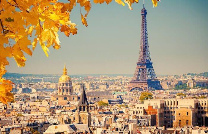 Paris, the capital of France