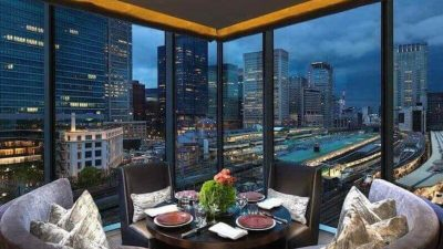 Dine at a Tokyo Restaurant With Fine Views