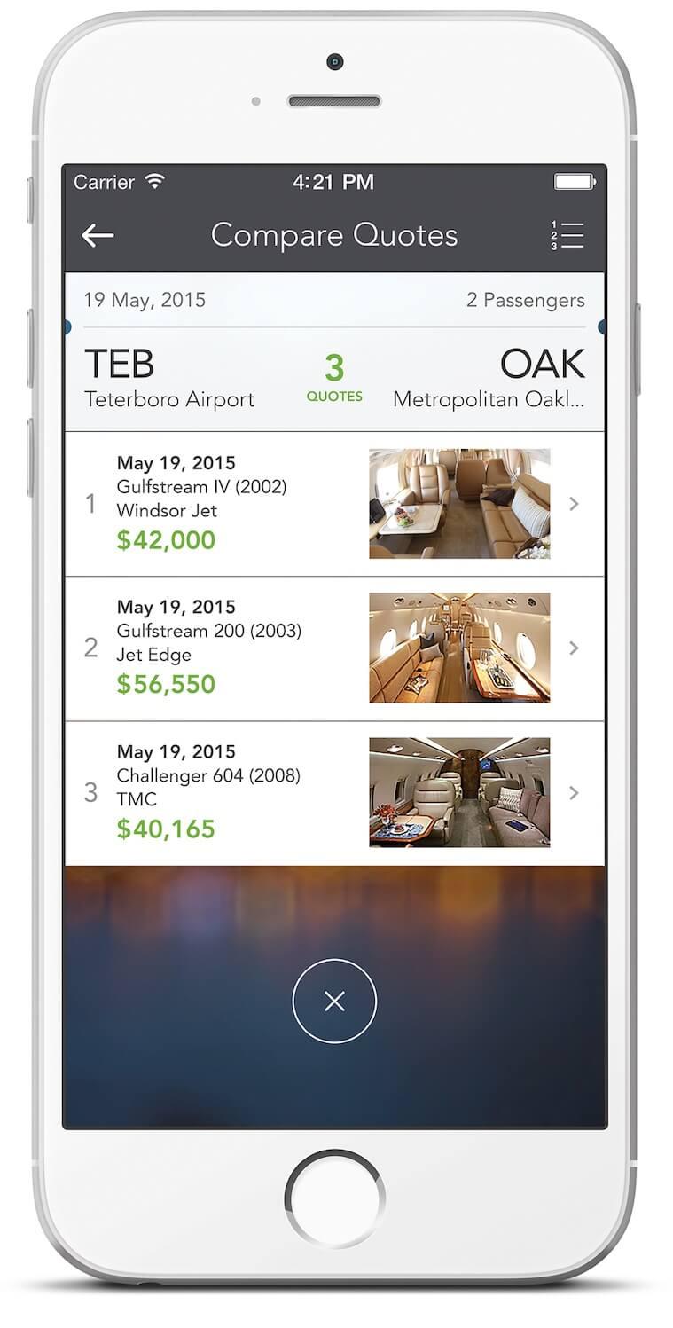 Victor-App-Jet-Charter-Travel