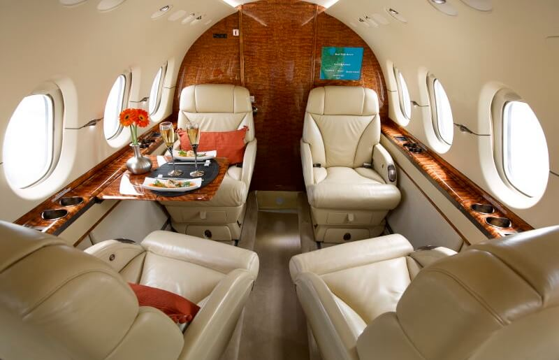 Victor-Charter-Jet-Interior