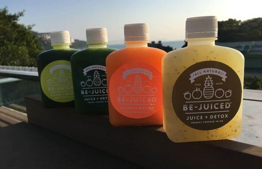 Detox juices by Be-Juiced+Bar juice bar in Hong Kong