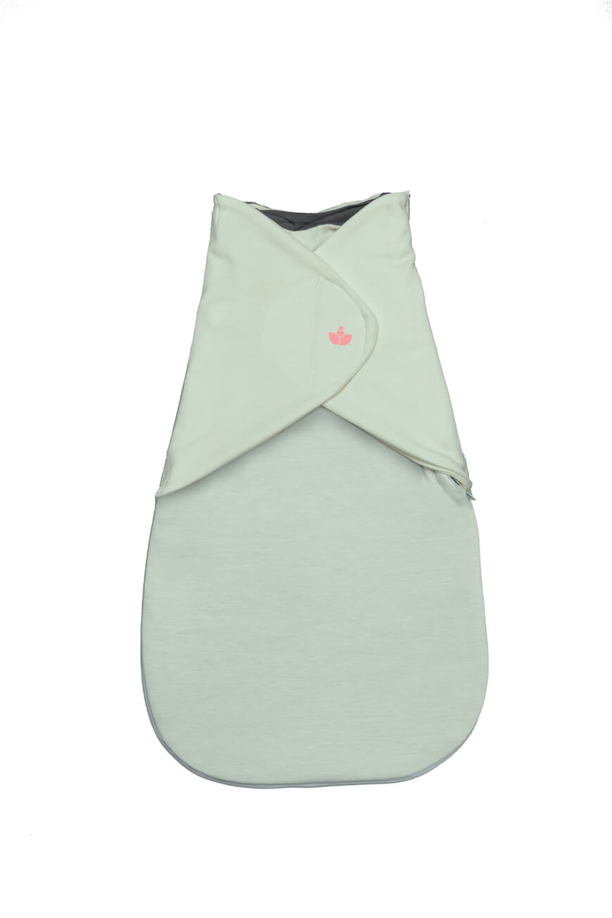 Little Lotus Baby Swaddle in Mint