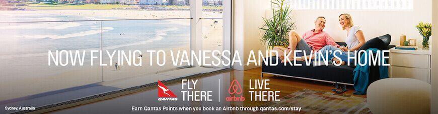 Airbnb Qantas Sydney