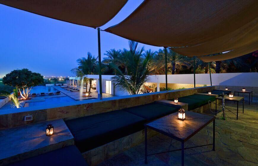 Dubai Desert Palm Al Fresco Dining