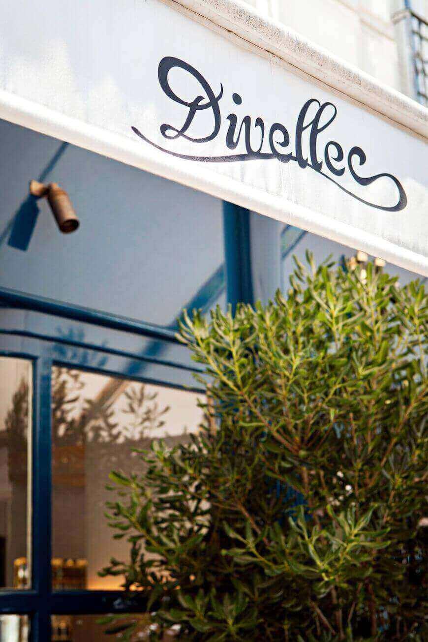 Divellec Paris Restaurant Exterior