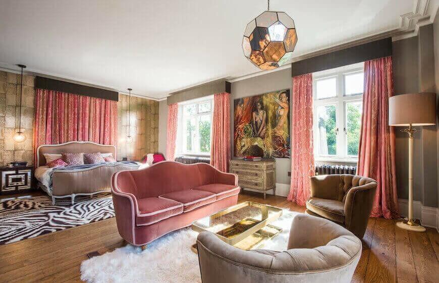 Jo Berryman Studio Master Bedroom