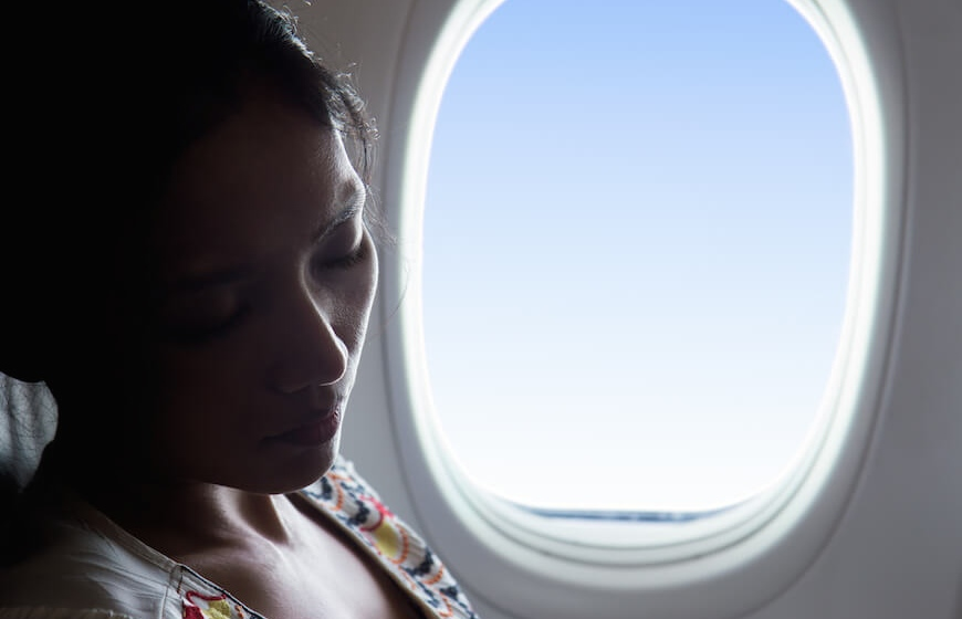 Foods to Help You Sleep On a Long-Haul Flight