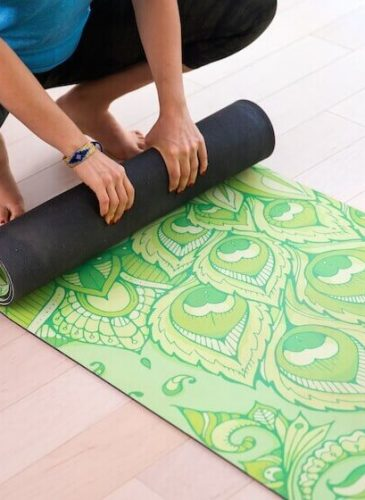 Yoga mat by Artletica