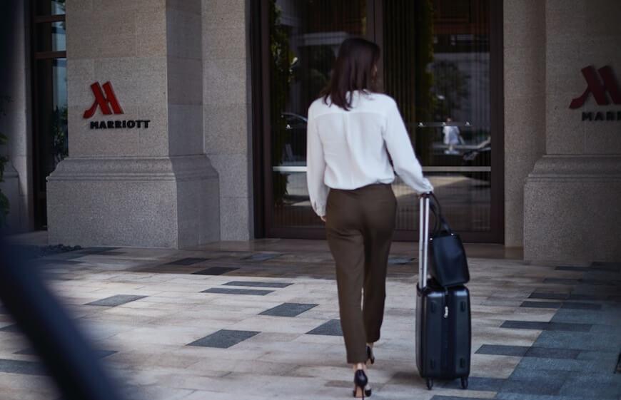 Marriott Hotel Arrival