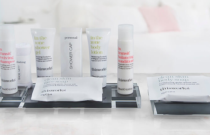Marriott Hotels Skin Care kit